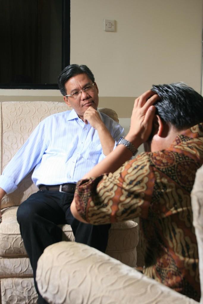 Personas en terapia, comunicación