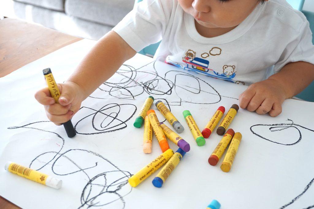 fomentar la creatividad en los niños