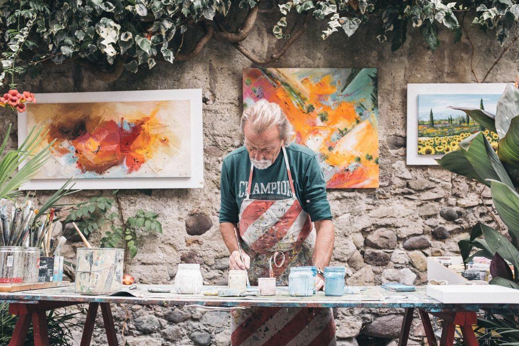 fomentar la creatividad de adultos